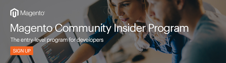 Magento Community Insider Program Sign Up | Magento Blog