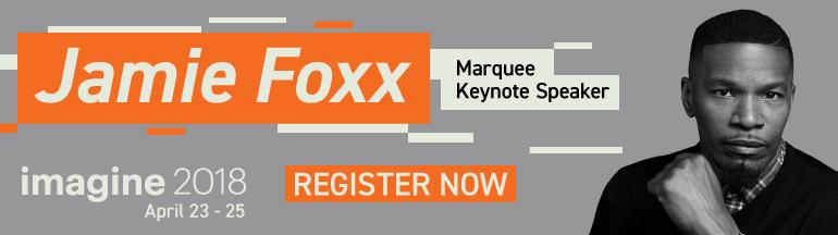 Jamie Foxx | Imagine 2018 Marquee Speaker | Magento Blog