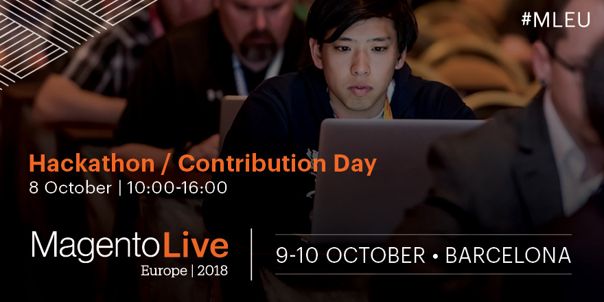 Don't Miss Contribution Day at MagentoLive Europe 2018