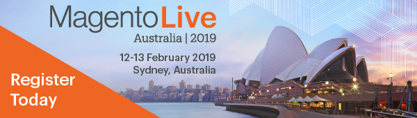 Register now for MagentoLive Australia!