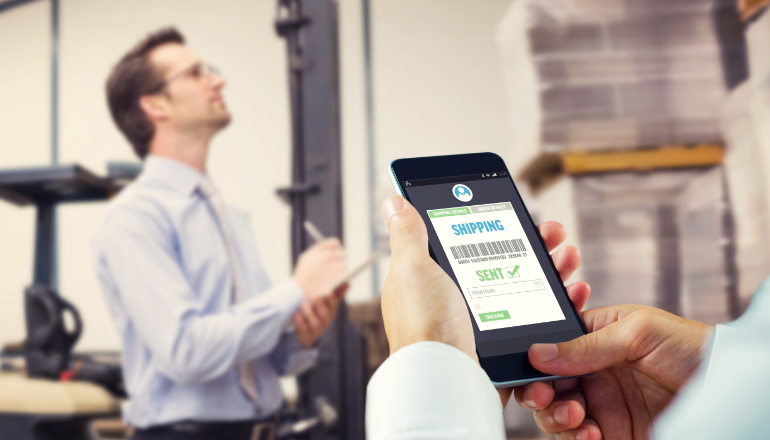 Global Inventory and Order Management Systems - Placing orders on phone from warehouse