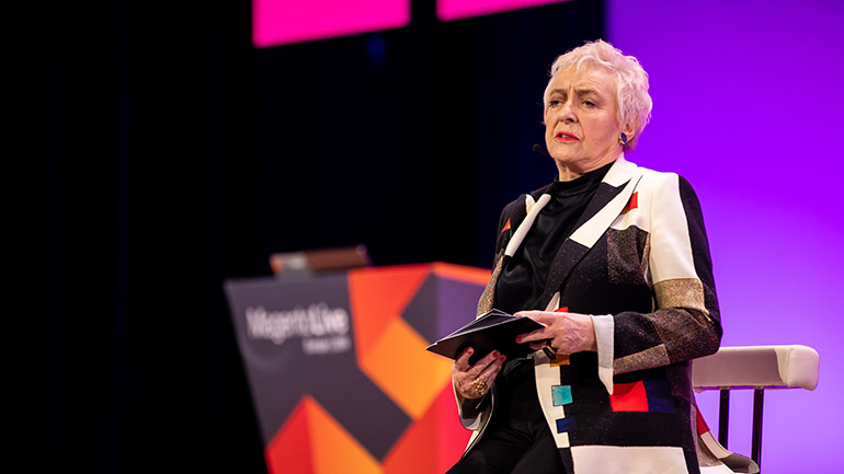 MagentoLive Europe 2019 Dame Stephanie Shirley CH