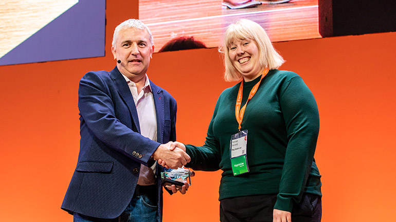 MagentoLive Europe 2019 Commerce Ace Award Winner Hannah Bennet