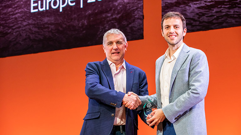 MagentoLive Europe 2019 Commerce Ace Award Winner Victor Clar