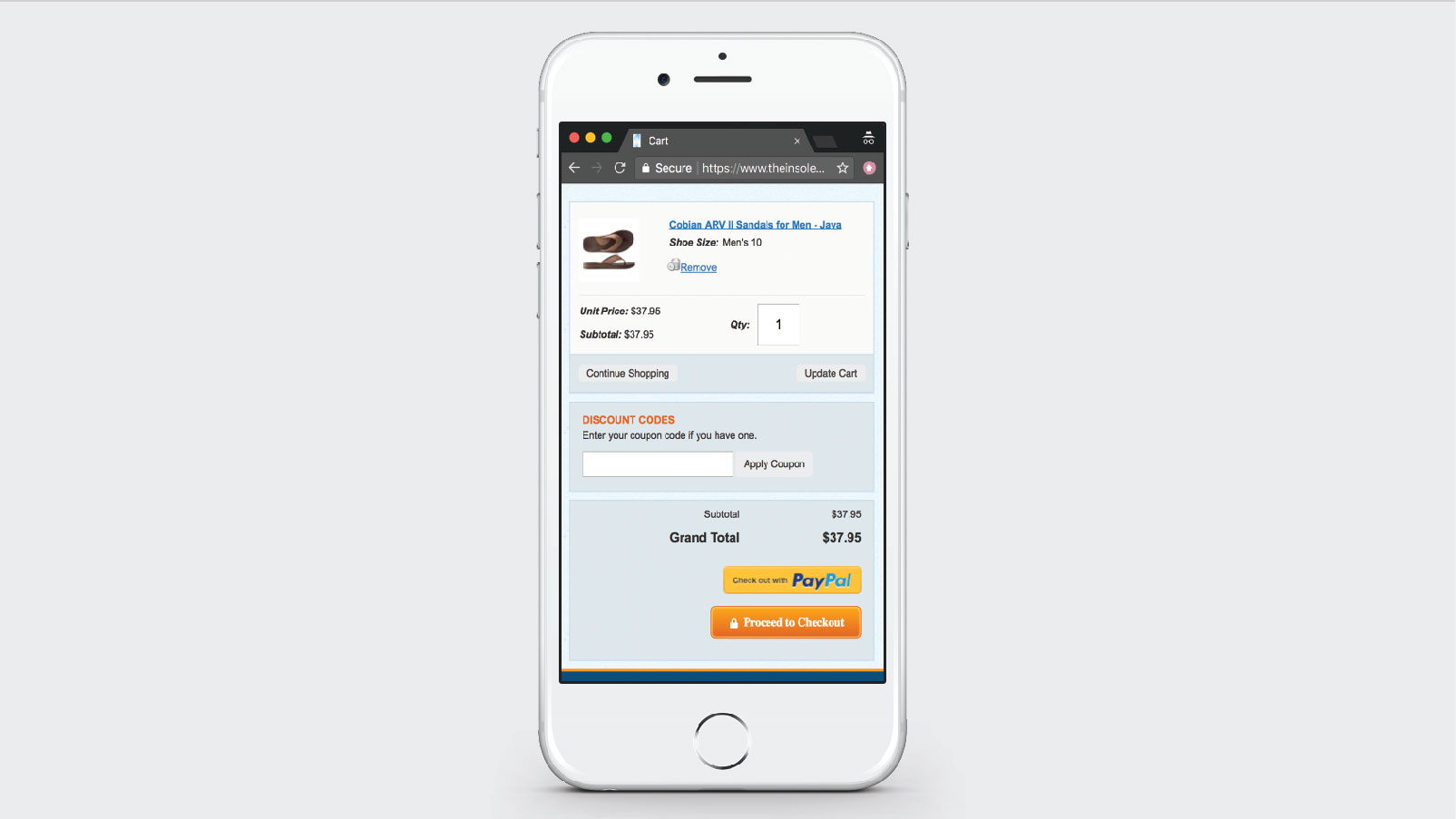 TheInsoleStore.com Steps into Higher Mobile Conversion Rate