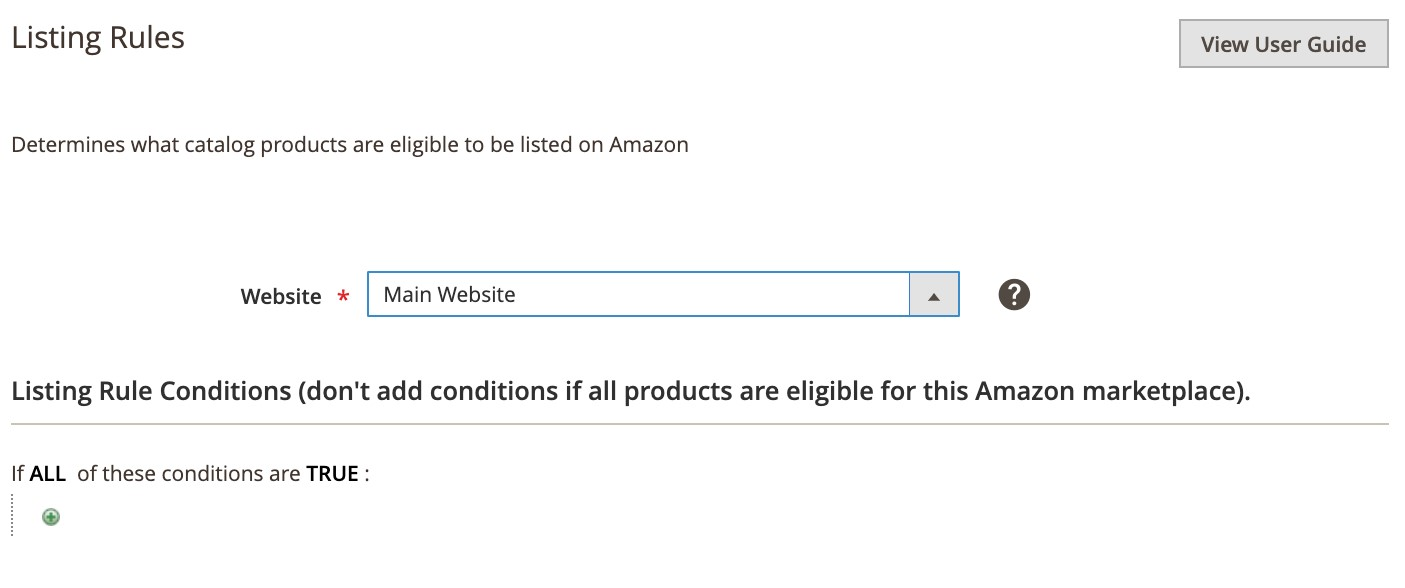 listing products on amazon – Listing Rule