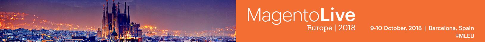 Regirster for MagentoLive Europe 2018