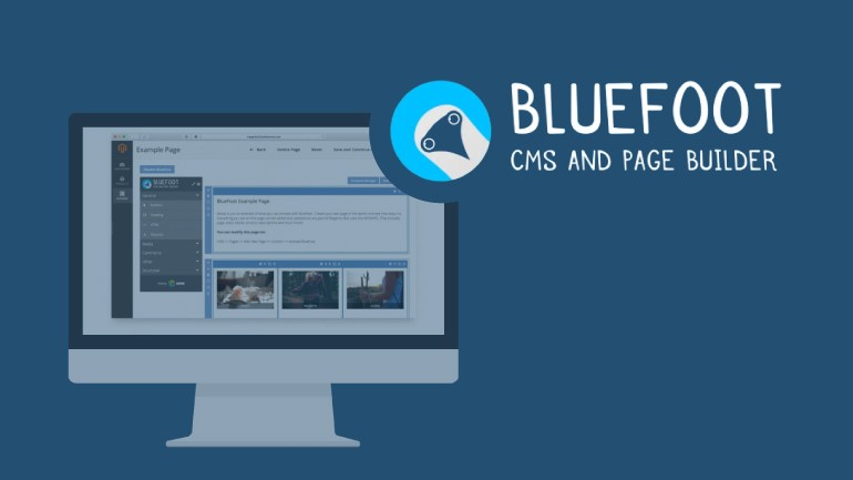 CMS and Page Builder  - Bluefoot