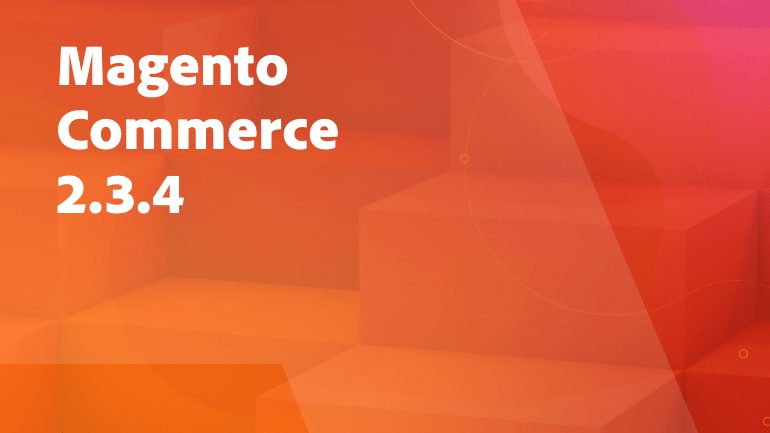 Magento Commerce 2.3.4
