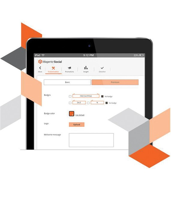 Magento Promotional Content