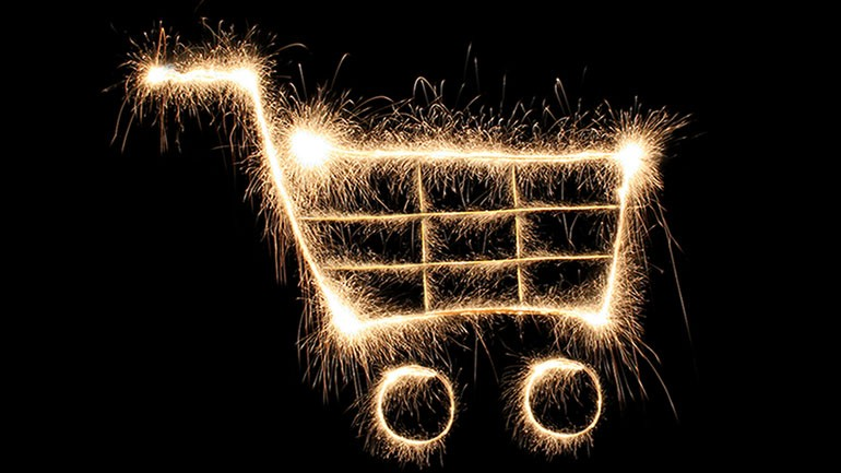 Ecommerce-digital-shopping-cart