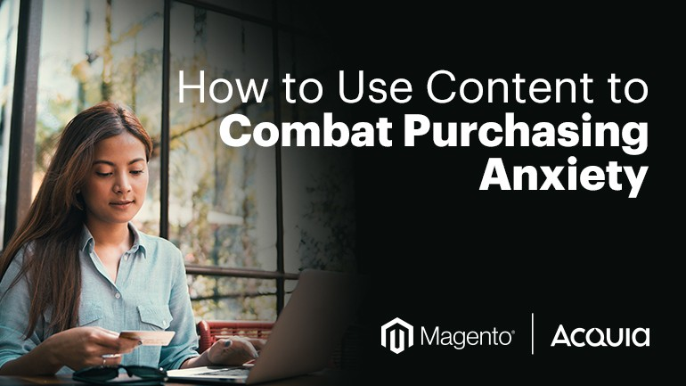 Combat Purchasing Anxiety