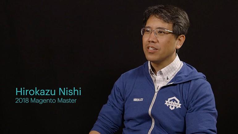 Magento Masters Spotlight: Hirokazu Nishi 2018