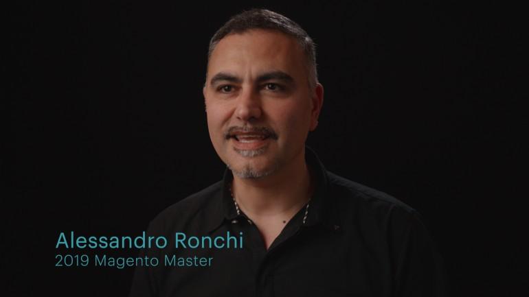 Magento Master Alessandro Ronchi