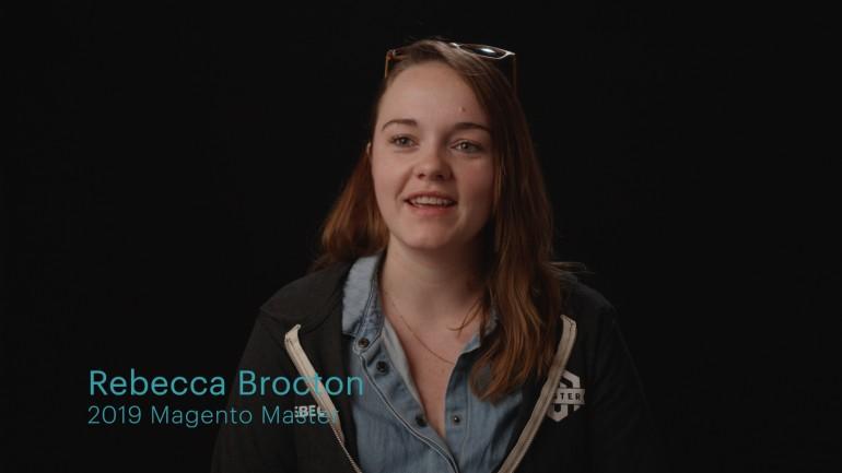 Magento Master Rebecca Brocton