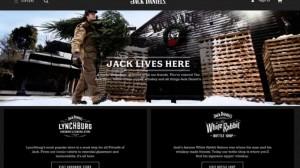Jack Daniel's website is built on Magento Commerce