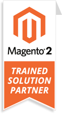 Magento 2 Trained Solution Partner badge