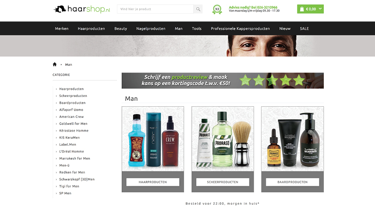 Enterprise Commerce - Haarshop