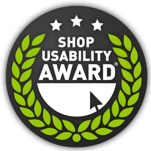 Regalraum Shop Usability Award
