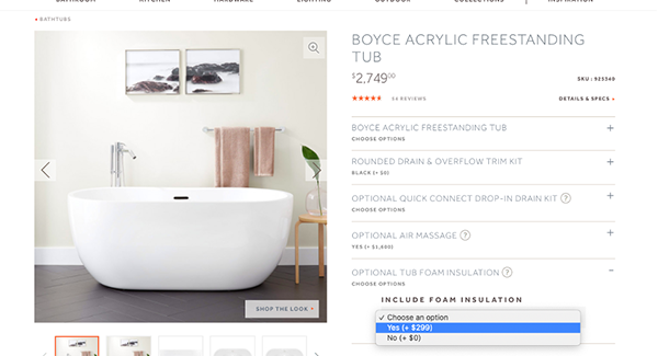 5 Examples of Effective eCommerce Upselling