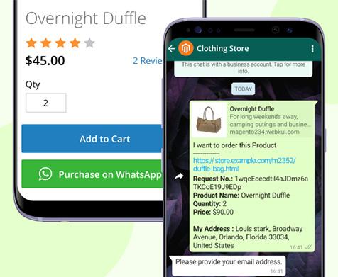 PWA WhatsApp Shopping Assistant