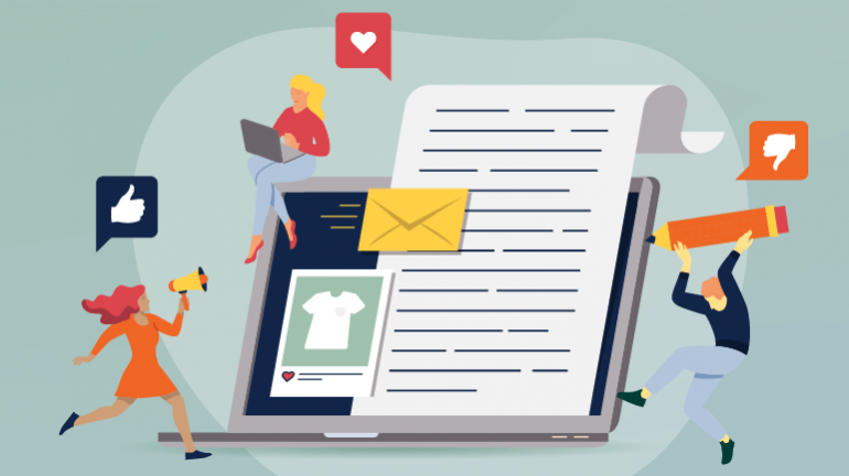 eCommerce Sites - Content Marketing Ideas for B2B