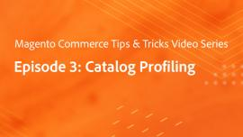Tips & Tricks Episode 3: Profiling - Catalog Profiling