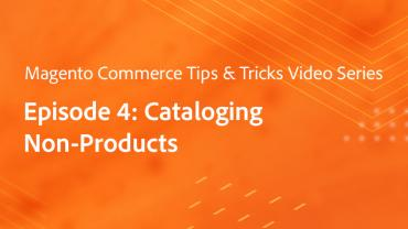Tips & Tricks Episode 4: Profiling - Cataloging Non-Products